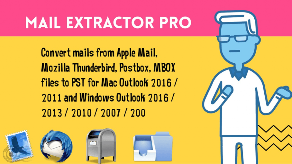 convert apple mail to outlook pst