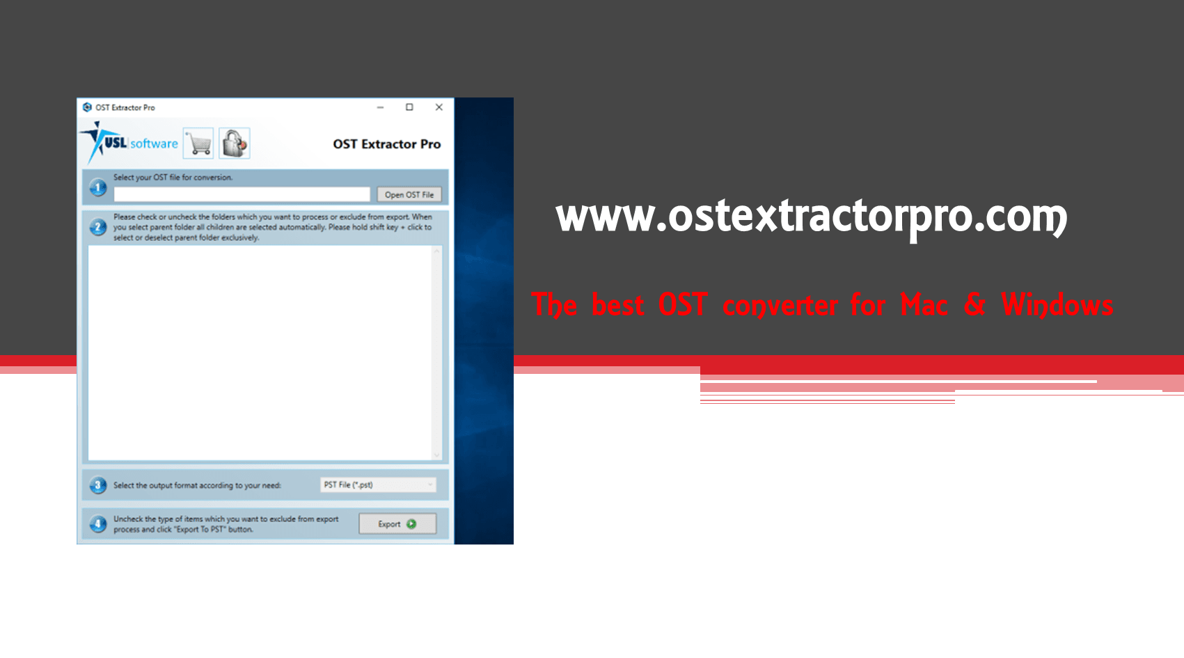 There exists an easy way to import OST to PST Outlook 2016