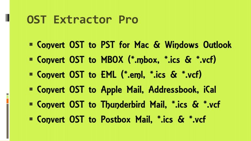 migrate ost data to pst